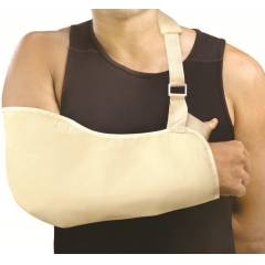 Optika Beige Deluxe Arm Sling, KSPA-022-DX-M, Size: Medium