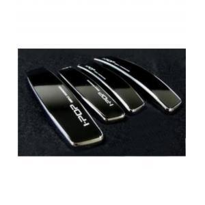 I-Pop Black Car Door Guard (Pack of 4)