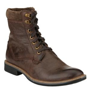 Delize 60011 Brown Leather Men's Boots, Size: 8
