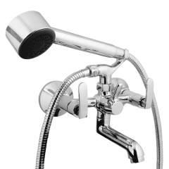 Jainex Irene Wall Mixer ( with Crutch) with Free Tap Cleaner, IRN-5041