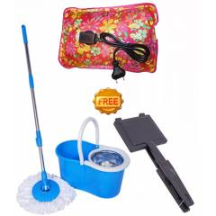 Taptree Assorted Steel Mop with Free Heating Pad & Gas Toaster, MOP0580
