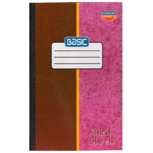 Aeroline 00402 Basic Large Exercise Book (Pack of 5)