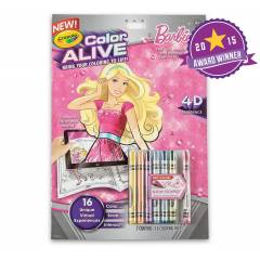 Crayola Barbie Coloring Books With 6 Crayons, 9510480000
