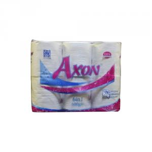 Axon 10cm 6 In1 Toilet Roll, AB6 (Pack of 6)