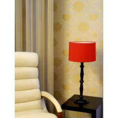 Tucasa Table Lamp Circular Shade, LG-218, Weight: 800 g