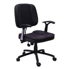 R P Enterprises Essex Medium Back Office Chair, Dimensions: 45x48x60 cm