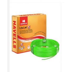 Havells 25 Sq mm Single Core PVC Insulated Flexible Cable, WHFFDNGB1025, Length: 100 m