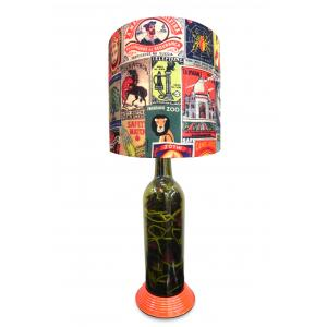 What Scrap Matchbox Collection Table Lamp