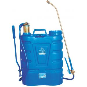 Best Sprayer Hariyali-08 Blue Knapsack HDPE Tank with 8 Nozzle Set Garden Sprayer, Capacity: 16 L