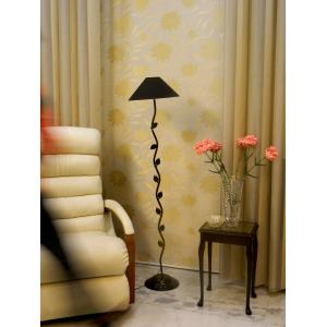 Tucasa Leaf Floor Lamp with Black Shade, LG-586, Weight: 1100 g
