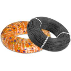 Havells 1.5 Sq mm Black Life Shield Flexible Cable, WHFFZNKL11X5, Length: 180 m
