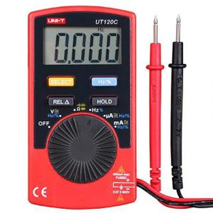 Uni-T UT120C Pocket Size Digital Multimeter for AC/DC Current, TECH2204