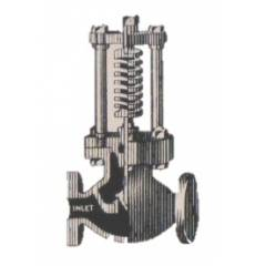 Divine C.I. Open Flow Spring Loaded Relief Valve (Globe Type), Size: 12 in