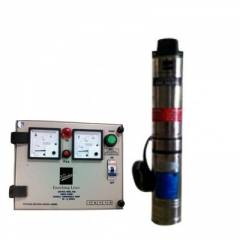 Kirloskar KP4 Jalraaj 1.5 HP Submersible Pump with Control Panel