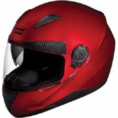Studds Shifter Cherry Red Full Face Helmet, Size (Large, 580 mm)
