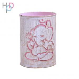 Height of Design HODNL24 Pink Gold Ganesha Night Lamp