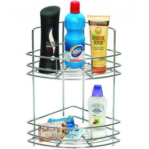 Abyss ABDY-0113 Stainless Steel Chrome Double Corner Basket