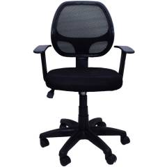 Regent Seating Collection 803 Black Net Mesh Chair
