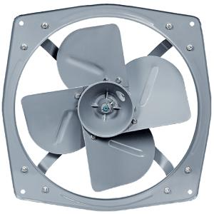Bajaj Supreme Plus 1400rpm Grey Heavy Duty Industrial Exhaust Fan, Sweep: 300 mm
