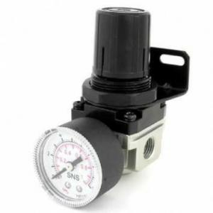 Akari 1/4 Inch AW Series Filter Regulator with Gauge, AW2000-02
