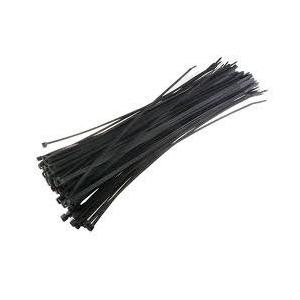 LTD 200x3.6mm Black Cable Tie, (Pack of 100)