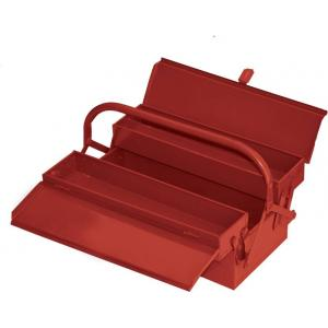 Vmax 3 Compartment Red Cantilever Tool Box
