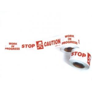 Udit 3 Inch Caution Tapes, Length: 200 Meter (Pack of 10)
