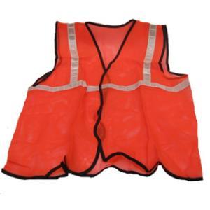 AST 1 Inch Mesh Type Orange Safety Jacket, SSJ-03