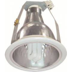 C&S 1x18W Vertical Retrofit CFL Down Light-LTCR100/B22