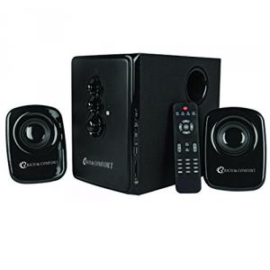 Rich & Comfort 2.1 Home Speaker System with Remote
