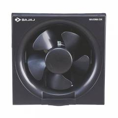 Bajaj Maxima DX 1400rpm Black Domestic Ventilation Fans, Sweep: 150 mm