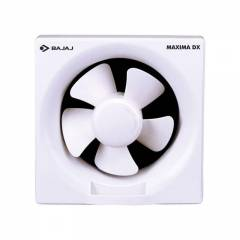 Bajaj Maxima DX 1400rpm White Domestic Exhaust Fan, Sweep: 150 mm