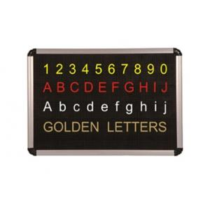 Generic Perforated Dotted Black Board with 100 Alphabetic Letters, Size: 12 mm