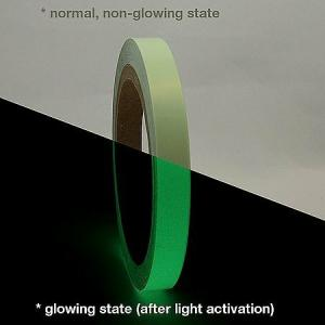 Clickforsign 1 Inch Glow In The Dark Night Vinyl Self Adhesive Tape