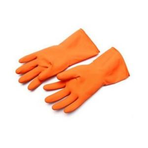 Sensuous Orange Rubber Hand Gloves (Pack of 3)