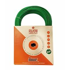 Polycab FR PVC Green 90m Wire, Size: 4 sq mm