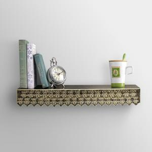 Height Of Designs Elegant Star Wall Shelf, HODWS7
