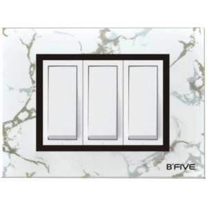 B-Five Marvel 12 Module Cover Plate, B-068M (Pack of 10)