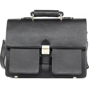 Dolphin Products DP001-Black Laptop Messenger Bag