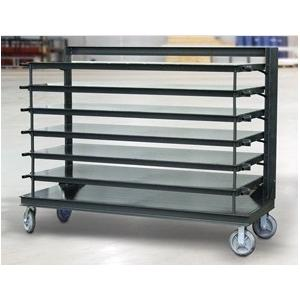 Fabtech India Mild Steel Grey Portable Racks