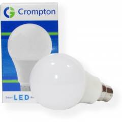Crompton 7W B-22 White Smart LED Bulbs (Pack of 2)