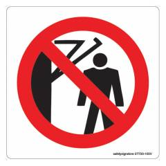 Safety Sign Store Caution: Mind Your Head-Graphic Sign Board, ST720-105V-01, (Pack of 5)