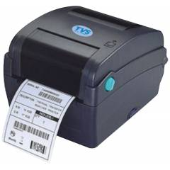 TVS LP46 Black Barcode Printer
