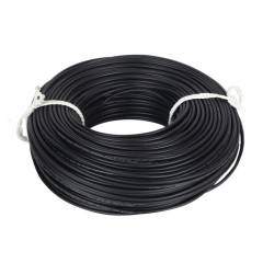 Kalinga Gold 1 Sq mm Black FR PVC Housing Wire, Length: 90 m