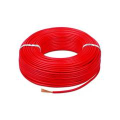 Kalinga Gold 1.5 Sq mm Red FR PVC Housing Wire, Length: 90 m