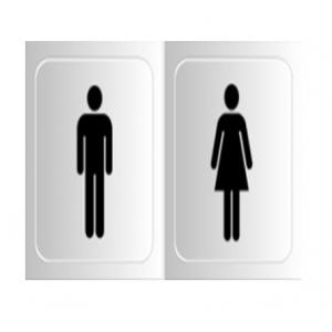 Signtech Ladies & Gents Toilet Sign Board, GS-13A
