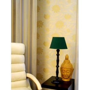 Tucasa Table Lamp with Oval Shade, LG-90, Weight: 800 g