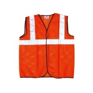 Prima 2 Inch Reflector Net Orange Safety Jacket, PSJ-04