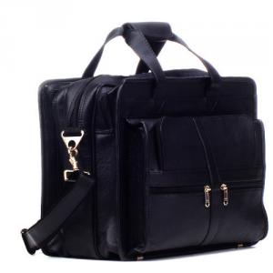 Dolphin Products DP006-Black Laptop Messenger Bag