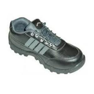 Rockland Minigold Derby Steel Toe Black & Grey Safety Shoes, Size: 8